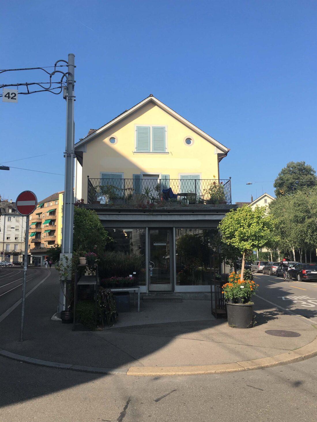Neue Fassade & Geländer